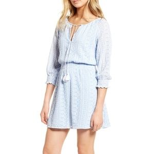 Cupcakes & Cashmere Chuck Embroidered Dress XS